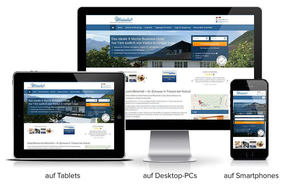 Responsive Design Hotel Website BookingMagnet